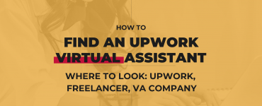 How to find an Upwork Virtual Assistant