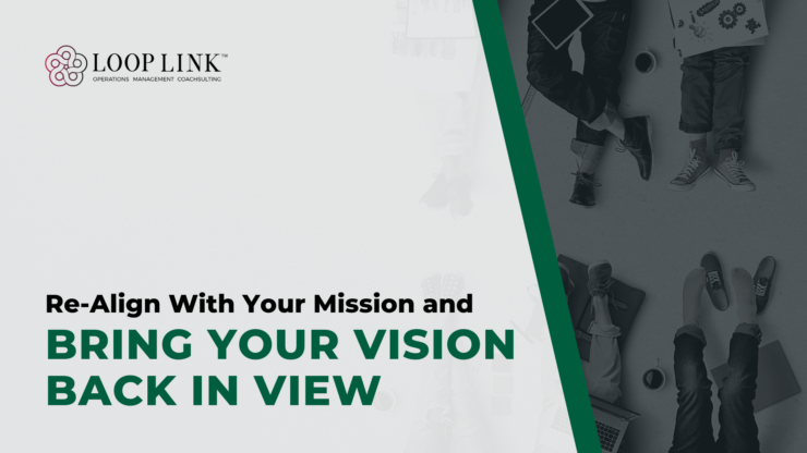 Re-Align With Your Mission and Bring Your Vision Back in View